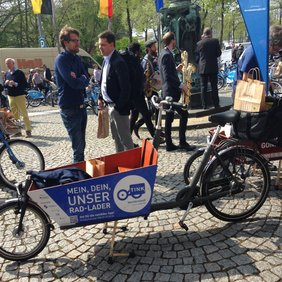 5. Nationaler Radverkehrskongress - Lastenfahrrad, Quelle: Juliane Krause